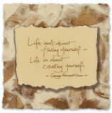 Words to Live by: Life Prints
