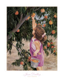 Just Peachy Prints by June Dudley