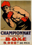 Championnat Boxing Prints