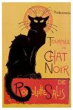 Tournée du Chat Noir, ca 1896 Foto van Théophile Alexandre Steinlen