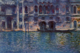 Venise, Le palais da Mula Posters par Claude Monet