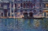 Venice Palazzo Da Mula Poster van Claude Monet