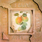 Old America Apple Print by Peter Kelly
