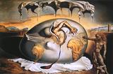 Enfant géopolitique observant la naissance de l'homme nouveau Photographie par Salvador Dalí
