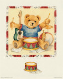 Play Time II Prints by Isabelle De Bercy