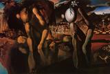 La métamorphose de Narcisse, vers 1937 Photographie par Salvador Dalí
