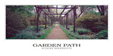 Garden Path Poster by Richard Berenholtz