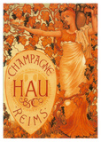 Champagne Hau Reims Prints