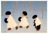 Promenade des songes Affiches par Diane Ethier