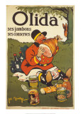 Olida, ses jambons, ses conserves Posters