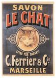Savon Le Chat Print