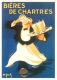 Bières de Chartres Print