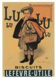 Biscuits Lu Affiches