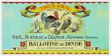 Ballotine de Dinde Prints