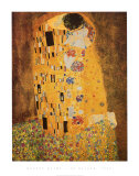 O Beijo, cerca de 1907 Poster por Gustav Klimt