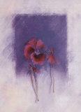 Scarlet Violet Print by Matilda Ellison