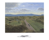 Waterville 12th Hole Collectable Print by P. Munro