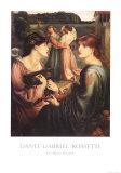 The Bower Meadow Plakat autor Dante Gabriel Rossetti