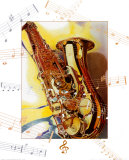Saxophone Prints by A.. Cromwell