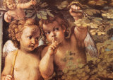 Whispering Angel Posters af Agostino Carracci