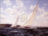 8 Meters Racing Off the West Collectable Print by Steven Dews