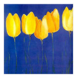 Yellow Tulips Posters by Teo Malinverni