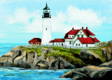 Portland Head Lighthouse Prints by Kevin Smith