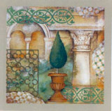 An Italian Garden III Prints by M. Patrizia