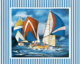Regatta III Prints by Alain Agostini
