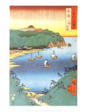 Inlet at Awa Province Prints by Ando Hiroshige