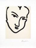 Nadia Au Visage PenchÈ Posters av Henri Matisse