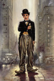 Charlie Chaplin, City Lights Posters by Renato Casaro