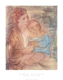 Mother and Child Posters by Pablo Picasso
