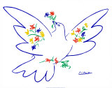 Dove of Peace Poster van Pablo Picasso