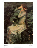 Oph&#233;lie, 1894 Posters par John William Waterhouse