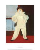 Paolo als Pierrot Kunstdrucke von Pablo Picasso