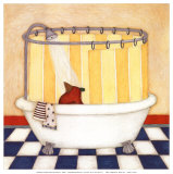 Shower Time Prints by Helga Sermat