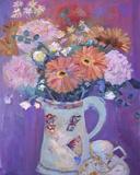 Floral Jug I Prints by Andrea Tana