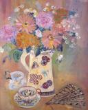Floral Jug II Prints by Andrea Tana