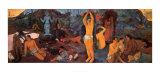 D'où venons-nous Que sommes-nous Où allons-nous Affiches par Paul Gauguin