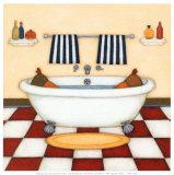 L'heure du bain Affiches par Helga Sermat