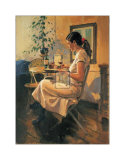 Sunday Girl Prints by Raymond Leech