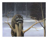 Mischief on a Stump Poster af David Jean