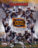 New England Patriots - Super Bowl XXXVIII Champions - Limited Edition (PF Gold) Composite Photofil Photo