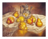 Pears Display Art by J.R. Insaurralde