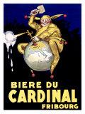 Biere du Cardinal, Fribourg Giclée-tryk af Achille Luciano Mauzan