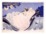 Monte Carlo Giclee Print by Louis Icart