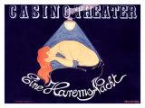 Casino Theatre Giclee Print by Hans Baluschek
