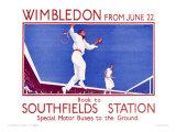 Wimbledon Reproduction procédé giclée