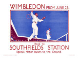 Wimbledon Giclee Print